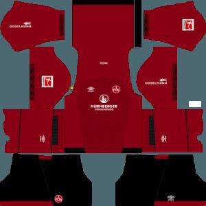 FC Nurnberg home kit