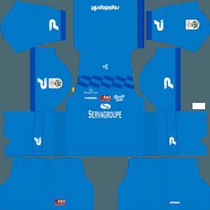 Guingamp gk away kit