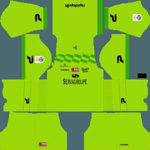 Guingamp gk home kit