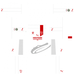 Nimes Olympique away kit