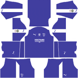 Nimes Olympique gk away kit