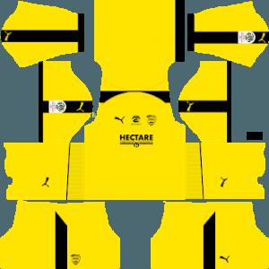 Nimes Olympique gk home kit
