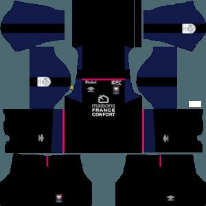 SM Caen gk away kit