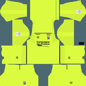 SM Caen gk home kit