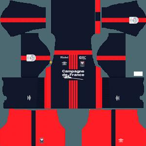 SM Caen home kit