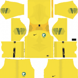 Saudi Arabia gk away kit 2018-19