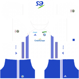 Strasbourg away kit