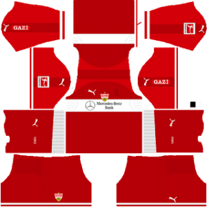 VFB Stuttgart away kit