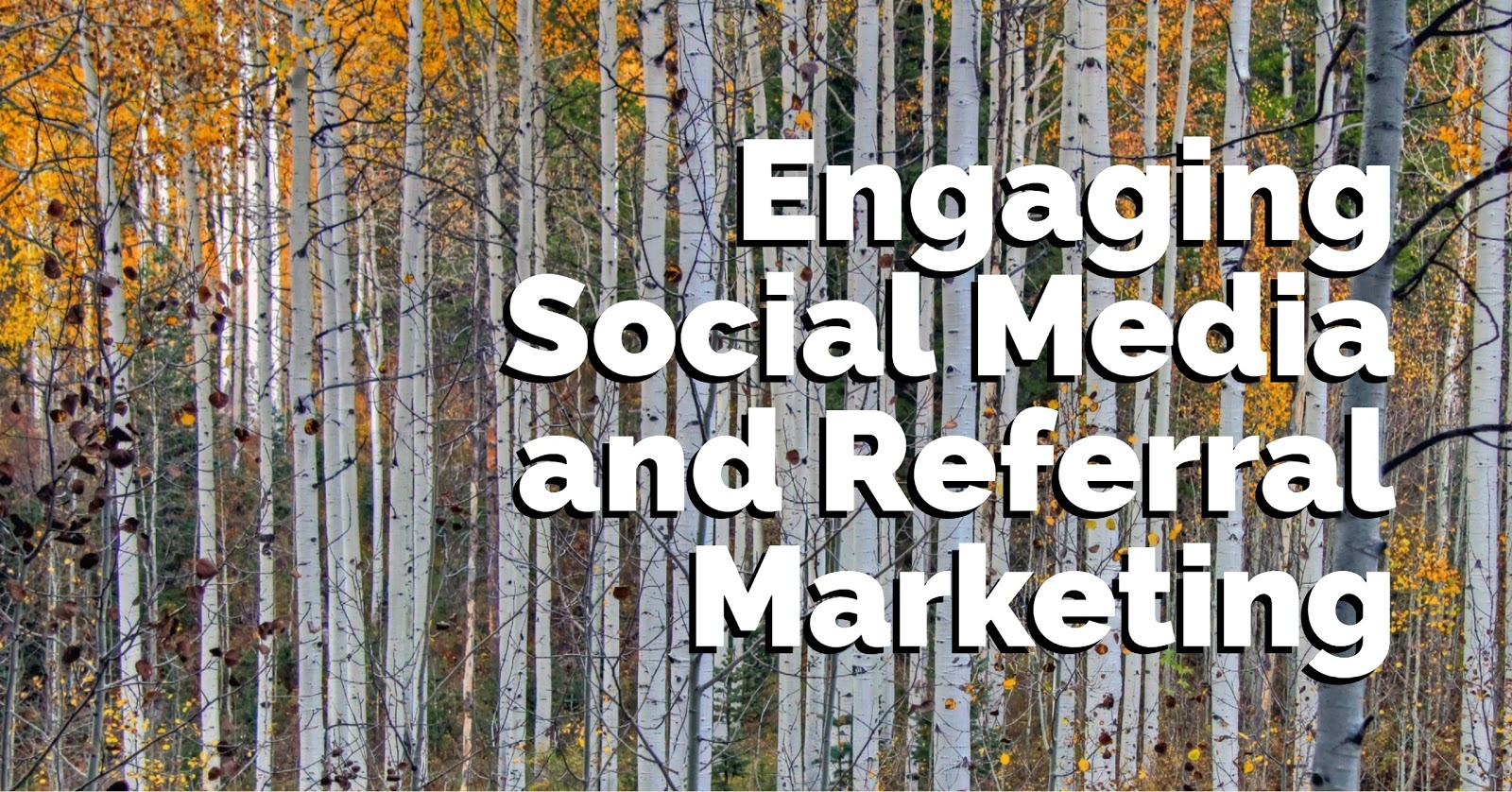 Engaging Social Media And Referral Marketing
